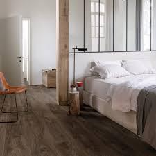 balance cottage oak effect dark brown luxury vinyl flooring by quick step bacl40027