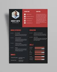 ... Creative Resume (CV) Design Template PSD File (2)