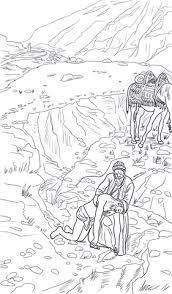 Good Samaritan Parable Coloring Page Free Printable Coloring Pages