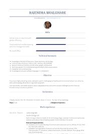 Junior Engineer Resume Samples And Templates Visualcv