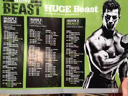body beast huge beast calendar