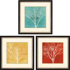 fallen leaves artwork set of 3  on alabama vinyl wall art with fallen leaves artwork set of 3 19 x19 contemporary prints and