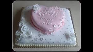 How To Make Silver Wedding Anniversary Cake Tort Na Srebrne Gody
