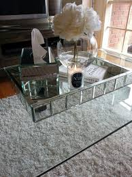 How To Decorate A Coffee Table Tray Mirrored Coffee Table Tray Home For You Mirrored Coffee Table Tray 73
