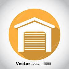 garage door icon stock vector