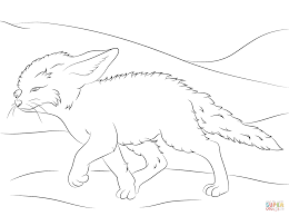 Small Picture Desert Fox Coloring PagesFoxPrintable Coloring Pages Free Download