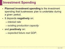 22 investment spending