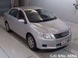 2008 Toyota Corolla Axio Silver for sale | Stock No. 65706 ...