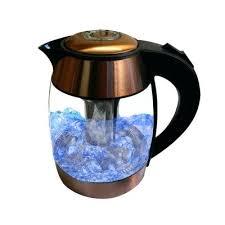 best tea kettle infuser liter electric glass copper 1
