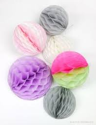 How To Make Tissue Paper Balls Decorations 100 DIY Tissue Paper PomPoms Tissue paper Paper pom poms and Globe 67