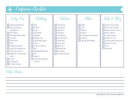 International Travel Packing Checklist Printable Travel Checklist Ultimate Packing For Lists