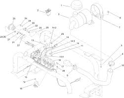 Wire harness air cleaner and hose assembly