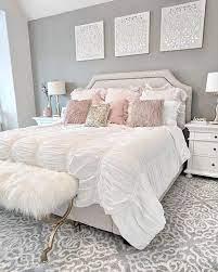 glam bedroom decor