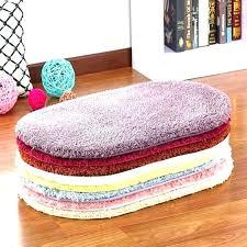 small oval bathroom rugs bath carpet set rug c fleece mats plush