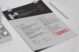 free resume template design cv free resume template on behance