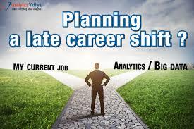 Planning Late Career Shift To Analytics / Big Data