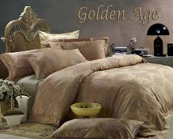 golden age by dolce mela 6 pc king size egyptian cotton duvet cover set in a beautiful dolce mela gift box dm444k