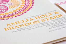 indian pattern letterpress wedding invitations Wedding Invitations With Letterpress the invitation was hand letterpress wedding invitations letterpress affordable