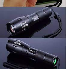 HÀNG NHẬP KHẨU,TẶNG SẠC PIN CHỮ A) Đèn pin siêu sáng XML T6, đèn pin