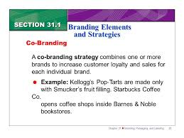section branding elements and strategies ppt 21 branding elements and strategies