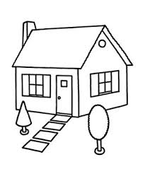 Printable House Coloring Pages Colouring For Kids House