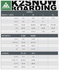 64 Circumstantial Burton Snowboard Bindings Size Chart