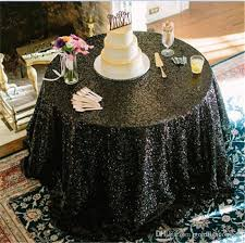 black tablecloths black tablecloth round glamour cake
