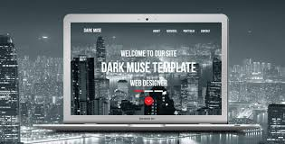 Parallax Website Template Amazing Dark Muse One Page Parallax Template By Loveishkalsi ThemeForest