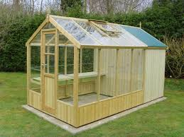 wooden greenhouse building plans