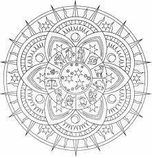 Mandala Da Colorare Difficili Buongiornissimocaffeit