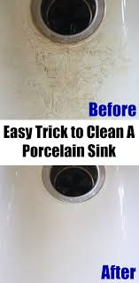 porcelain sink cleaner. Perfect Cleaner This Trick For Cleaning A Porcelain Sink Is Incredible And SO Simple  And The Results Are Amazing For Porcelain Sink Cleaner