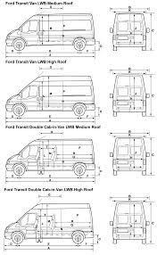 ford transit lwb blueprints