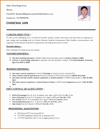 Science Teacher Resume Format Lovely 98g Resume Academic Position