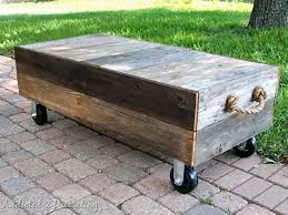 Fish tank coffee table idea. 15 Diy Coffee Tables How To Make A Coffee Table