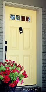 colored front doorsBeautiful Front Door Paint Colors  Satori Design for Living