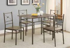coaster 100033 home furnishings 5 piece dining set dark bronze wall s furniture decor
