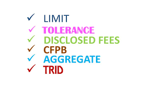 Trid Laws Disclosed Fees Make Sure You Provide The List