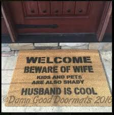 Doormats Funny Funky Doormat Welcomeat Go Away Carats Take Your ...