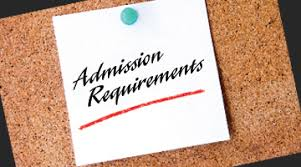 Image result for admission requirements