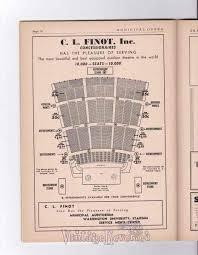 1940s St Louis Municipal Opera Seating Chart And Ads