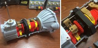 mechanical engineer 3d prints a working 5 sd transmission for a toyota 22re engine