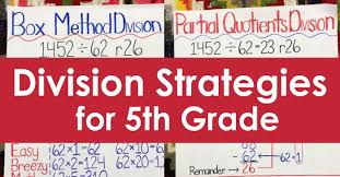 Division Strategies For 5th Grade Teaching With Jennifer