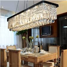mesmerizing rectangle dining room chandeliers rectangular chandelier contemporary with crystal light fixture island lighting kitchen modern cable rail