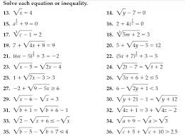 radical equations worksheet with answers switchconf