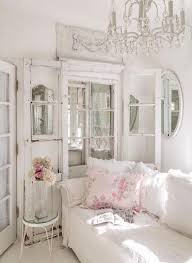 05 French style shabby chic living room - Shelterness