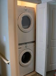 ... Attractive Design Washer And Dryer In Closet Modern Decoration  Contemporary Stackable Laundry With ...