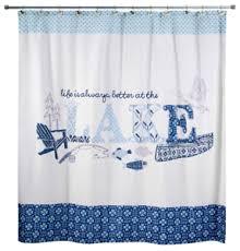 Lake Decor Accessories Lake Shower Curtain Bathroom Accessories Cabin Decor Life House 100