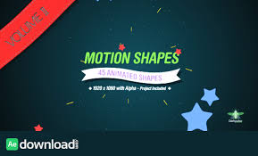 Motion Shapes Vol 2 Motion Graphic Videohive Free