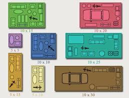 Stock N Lock Self Storage Size Guide Www Stocknlock Net