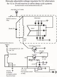 self build adjustable alternator controler Ford 3 Wire Alternator Diagram wiring diagram volt reg